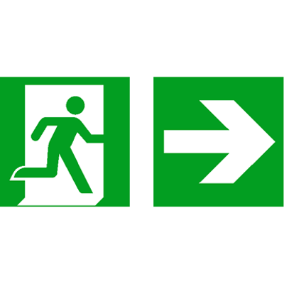 Image for Emergency exit sign