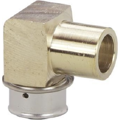 Image for PureFlow Press 90° Elbow - Bronze - P x FTG (CTS)