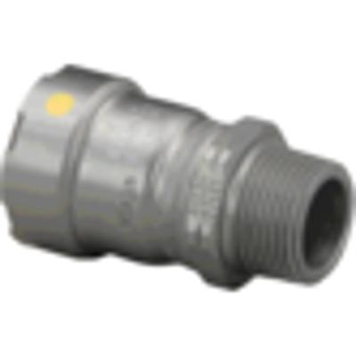 Image for MegaPressG Adapter - Carbon Steel - HNBR - P x MPT