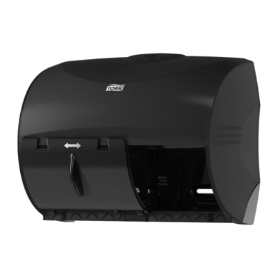 Image for Tork Twin Bath Tissue Dispenser for OptiCore®, black