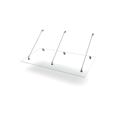 Image for Easy Collection Console Stainless Tube 1000x2000