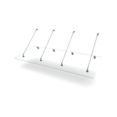 Image for Easy Collection Console Stainless Tube 1000x2500
