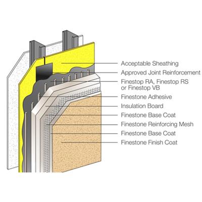 Image for Pebbletex CI DCA Design - Finestone Wall Systems