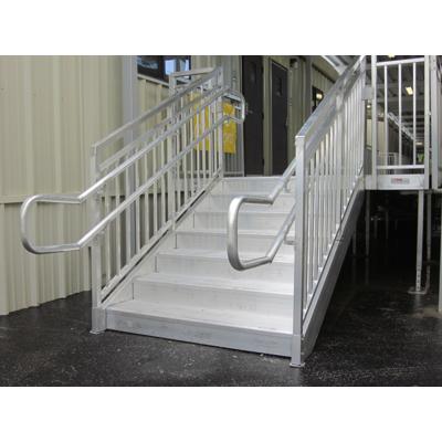 billede til Universal Aluminum Access Stairs