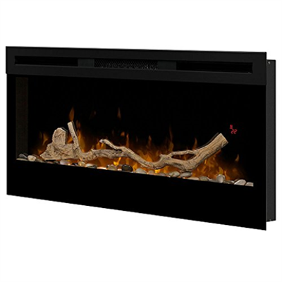 Image for Dimplex BLF3451 Prism 34-Inch Electric Fireplace with Driftwood Log Set LF34DWS-KIT