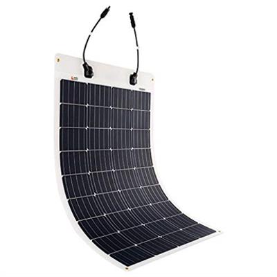 Image for Rich Solar 100 Watt 12 Volt Flexible Monocrystalline Solar Panel
