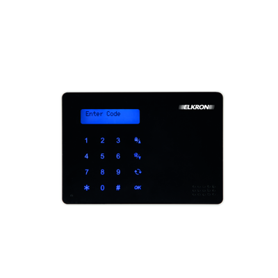 Image for LCD soft touch keypad