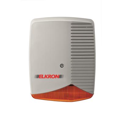 afbeelding voor Self-powered outdoor aluminium siren with flasher