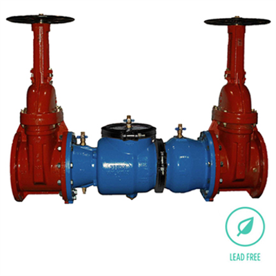 """Image pour Model 350 (350G, 350OSY, 350OSYG) Double Check Backflow Preventer, 2-1/2"""" to 12"""", Lead-Free*"""