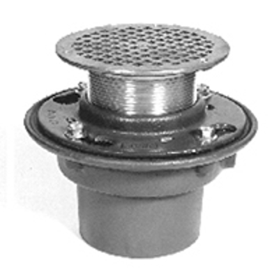 """Image for Z415B Floor and Shower Drain, Z415 Body Assembly with """"Type B"""" Strainer"""