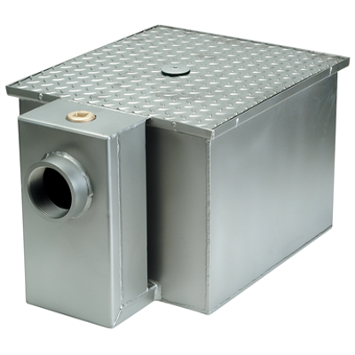 Image for ZS1170 Grease Interceptor, Stainless Steel - PDI Certified
