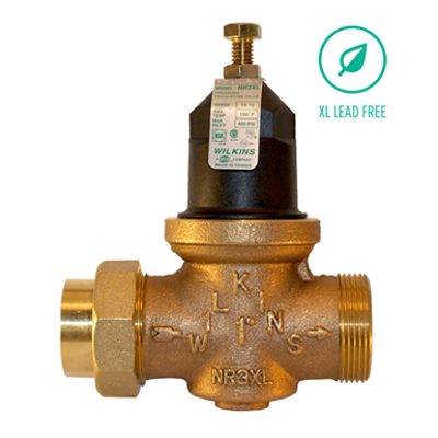 """Image for NR3XL Water Pressure Reducing Valve with Integral Inlet Strainer, 1/2"""" to 2"""", Lead-Free*"""