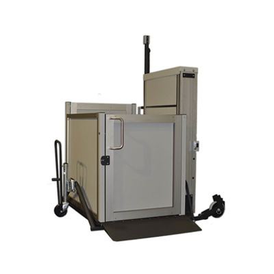 Image for Genesis Staage - Portable Vertical Lift Wheelchair Lift