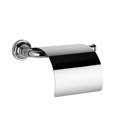 Image for 20VENTI - Wall-mounted paper roll holder with cover - 65449