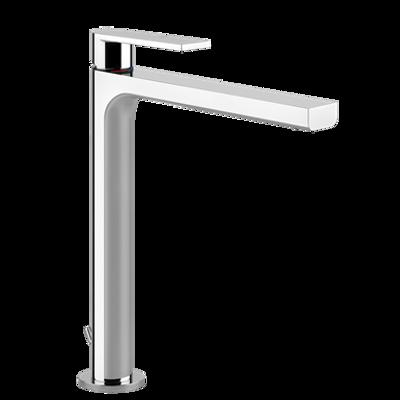 afbeelding voor EMPORIO - High basin mixer, flexible connections, with waste - 38603