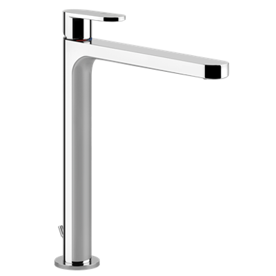 Image for EMPORIO - High basin mixer, flexible connections, with waste - 29903