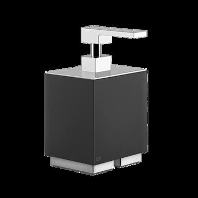 Image for RETTANGOLO ACCESSORI - Black standing Soap dispenser - 20838