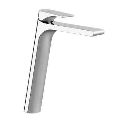 Image for EMPORIO - High basin mixer, flexible connections, with waste - 49003