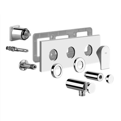 Image for EMPORIO - External parts for two-way shower mixer with diverter - 49038