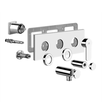 Image for EMPORIO - External parts for two-way shower mixer with diverter - 47240