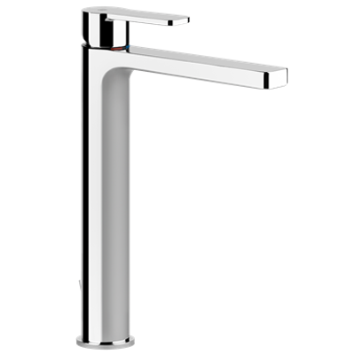 Image for EMPORIO - High basin mixer, flexible connections, with waste - 47109