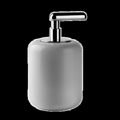 Image for GOCCIA ACCESSORI - Standing soap dispenser with white GRES glass - 38037