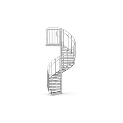 Image for Spiral Staircase, 16 steps per revolution