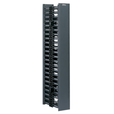 kuva kohteelle NetRunner Vertical Cable Managers, Front and Rear 22 RU and 45 RU, Front Only 22 RU and 45 RU
