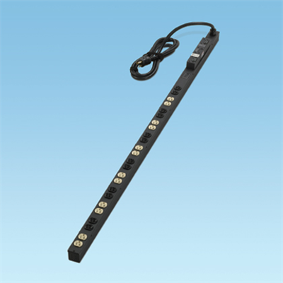 Image for Vertical Power Strips, 30A, 24 NEMA 5-20R Receptacles or 6-20R Receptacles, NEMA L5-30P