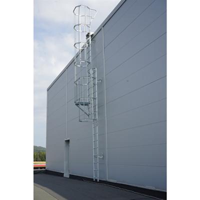 Image for Cat ladder with bracket set 700-1000 mm