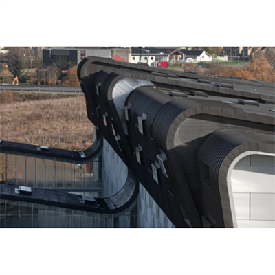 Image pour Couverture ZINC - Toiture structurale à joint debout