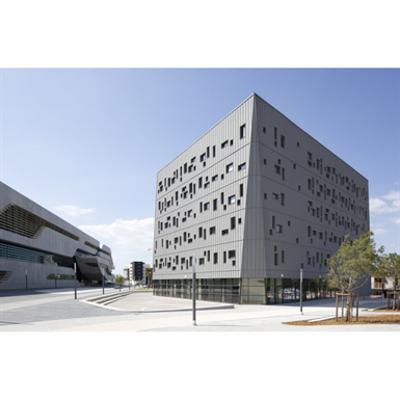 imazhi i ZINC cladding - VMZINC Standing seam facade