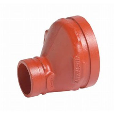 """Image for No. 51 Eccentric Reducer, 1-1/4"""" x 3/4"""" to 12"""" x 10"""", Ductile Iron/Carbon Steel/Segmentally Welded Steel (SWS), 500 psi to 1000 psi"""