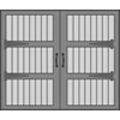 """Image pour Design 3000 Sectional Overhead Wood Garage Doors, 84"""" or 96"""" Height, 96"""", 108"""", 120"""", 192"""" and 216"""" Widths"""