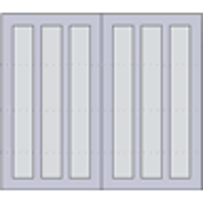 """Image for Design 303 Sectional Overhead Steel Garage Doors, 84"""" or 96"""" Height, 96"""", 108"""", 120"""", 192"""" and 216"""" Widths"""
