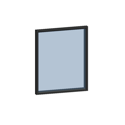 Image for MB-SLIMLINE Window SG 1-sash with Invisible Profiles
