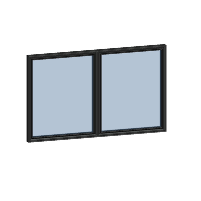 Image for MB-SLIMLINE Window 2-sash Tilt and Turn - Sidehung