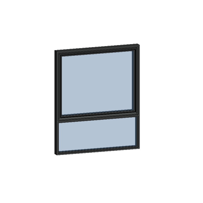 Image for MB-SLIMLINE Window 2-sash Vertical Fixed - Bottomhung