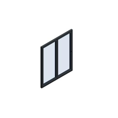Image for MB-86 Fold Line Folding door 2-leaf 2-2-0 outward opening