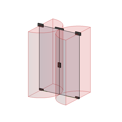 Image for MB-EXPO Double swing door for internal partition walls