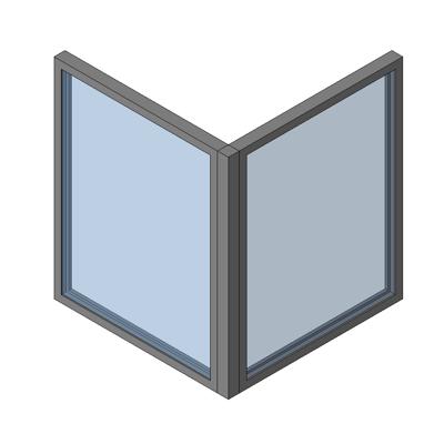 Image for MB-86 SI Corner Window