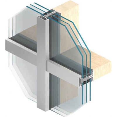 Image for MB-SR50N A Overlapping facade system for wood and steel
