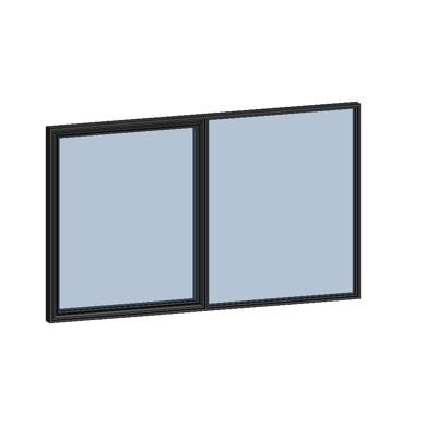 Image for MB-SLIMLINE Window 2-sash Tilt and Turn - Fixed