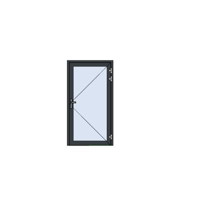 imagen para MB-78EI External Fireproof Single Door Opening Outwards for wall / curtain wall