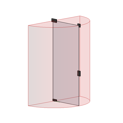 Image for MB-EXPO Single swing door for internal partition walls