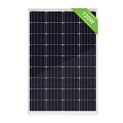 Image for Eco-Worthy 120W Monocrystalline Solar Panel