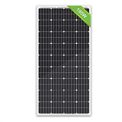 Image for Eco-Worthy 195W Monocrystalline Solar Panel