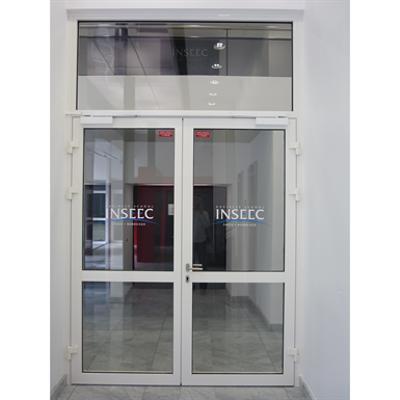 Image for Aluminium double fire door