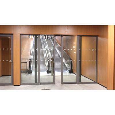Image for Aluminium automatic double sliding door