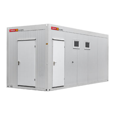 Image for ZECon - Ablution Unit 6.0m x 2.5m With Corridor (20 Persons)